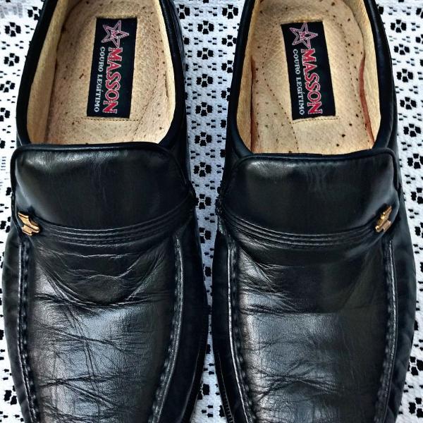 Sapato social masson original couro tamanho 37!!!