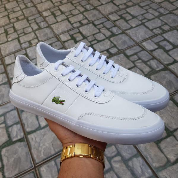 Tenis lacoste sport branco 41