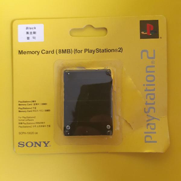 01 memory card playstation 2 8mb