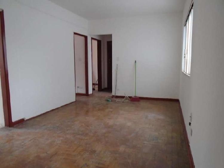 Apartamento 02 dormitórios, rua santo amaro, ao lado praça