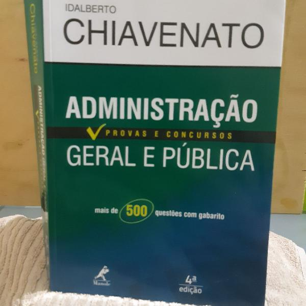 Administração geral e pública_ idalberto chiavenato