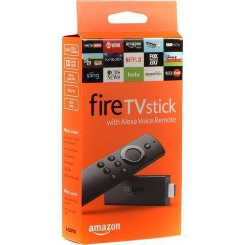 Amazon fire stick 2ª geração full hd - transforme sua tv