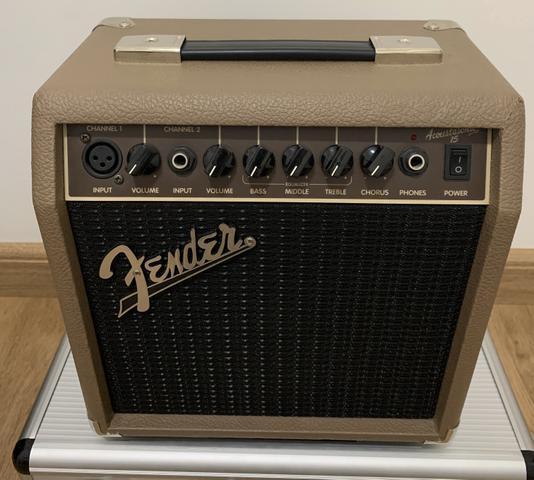 Amplificador fender acoustasonic 15