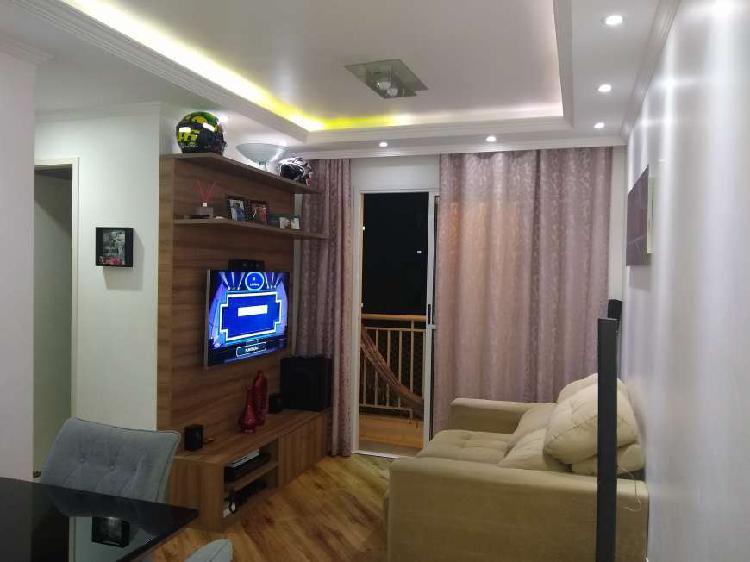Apartamento de 2 dorms campo limpo condomínio space campo