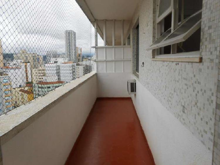 Apartamento para venda no gonzaga - santos - sp - próximo a