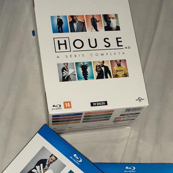 Box blu ray house m.d. 8 temporadas