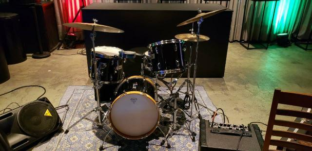 Bateria pearl session anos 90