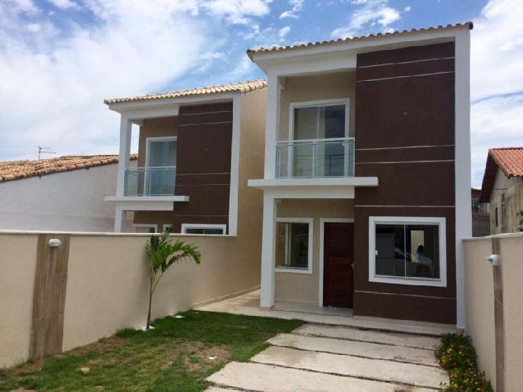 Bela casa duplex 3qts próx. à praia de itaipuaçu -