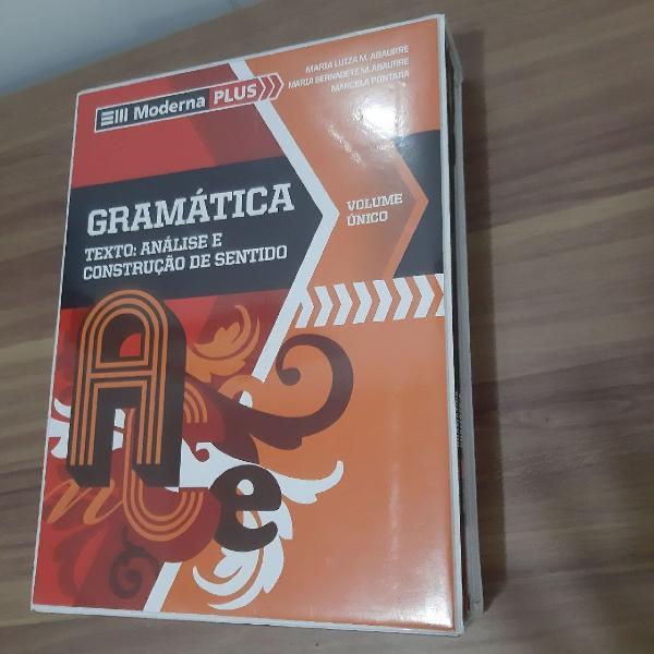 Box de gramática - vol. único