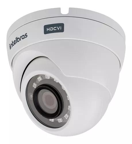 Camera intelbras dome externa 20m vhd 3220d full hd g4 2,8mm