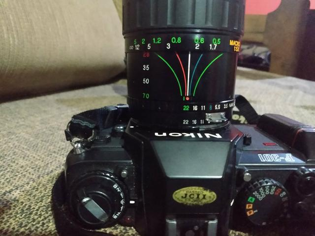 Camera nikon f301