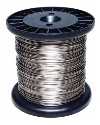 Carretel arame aço inox cerca elétrica fio 1,20mm bob