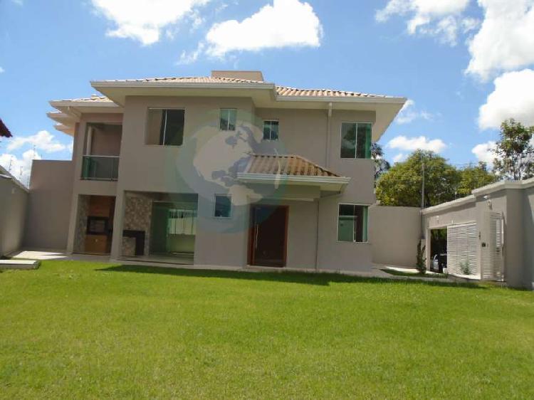 Casa alto padrão para venda em santa amélia belo