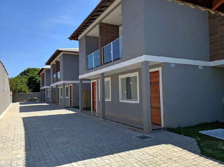 Casa a venda em Itaipuaçu com duas suítes, vista para o