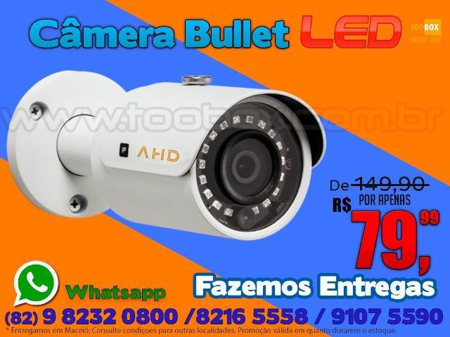 Câmera externa infravermelho - fazemos entregas