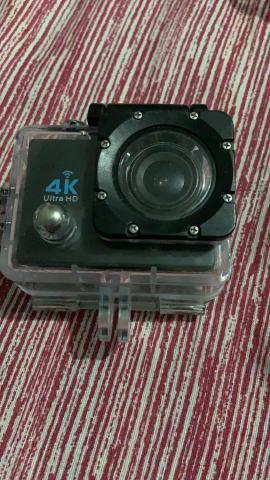Câmera de ação com capa a prova d?agua 4k 60 fps