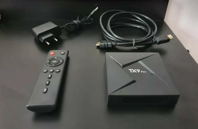 Conversor smart tv tx9 pro 4gb ram 32gb octa-core + brinde o
