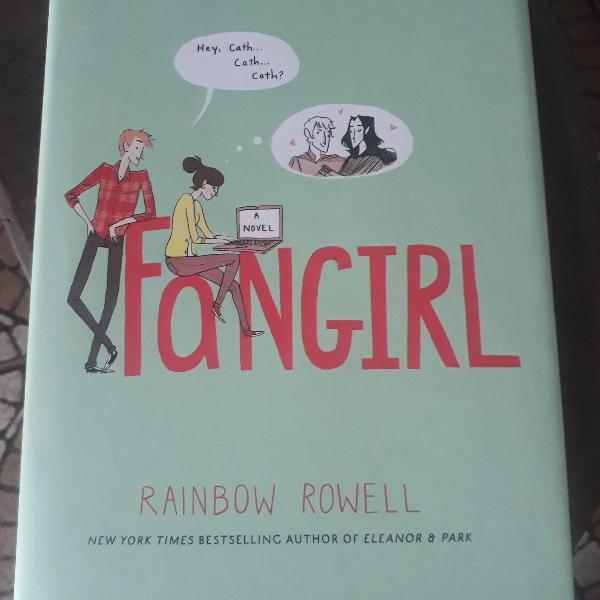 Fangirl, rainbow rowell, hardcover