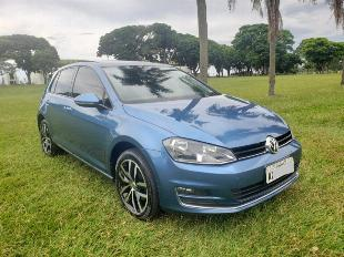 Golf 1.4 tsi highline azul 2014 novo