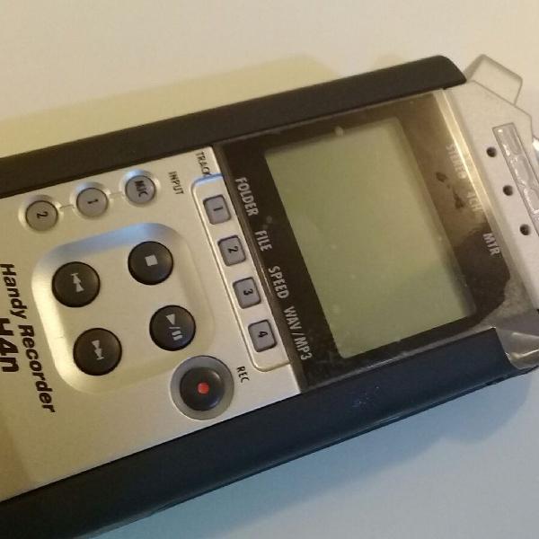 Gravador de audio hn4 zoom
