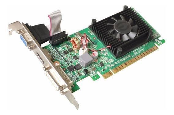 Gt 210 2gb + memória ram 4gb ddr3