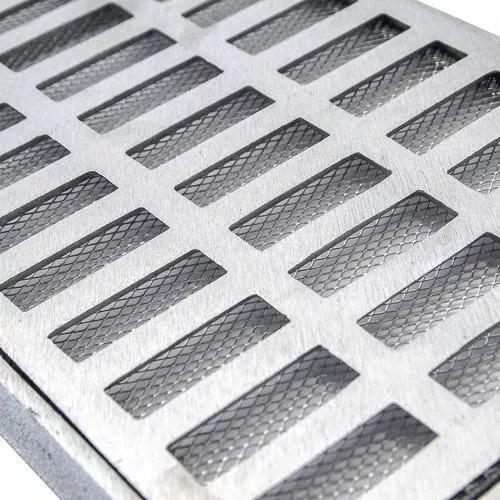 Kit Ralo Linear Aluminio(7 20x100) (1 20x50) Tela Anti Inset