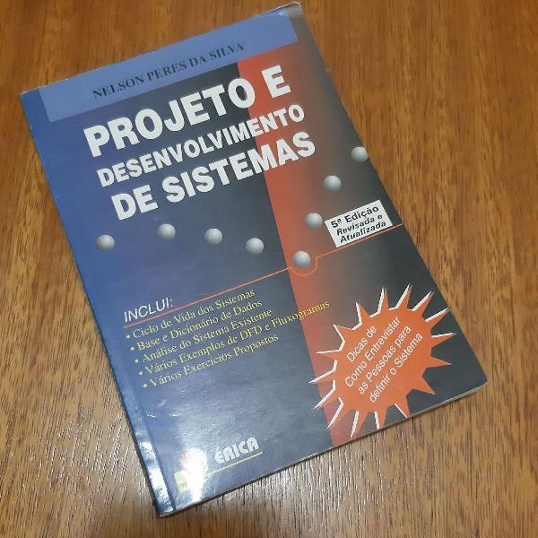 Livro projeto e desenvolvimento de sistemas
