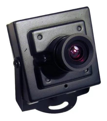 Mini câmera de segurança ccd 420 linhas 1/4- lente 3.6