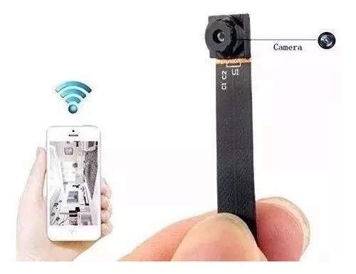 Mini câmera espia hd ip wifi cctv + cartão 32gb