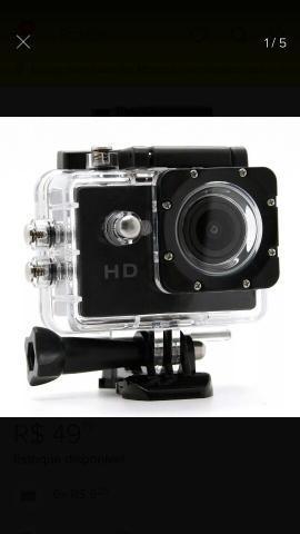 Mini câmera filmadora 720p