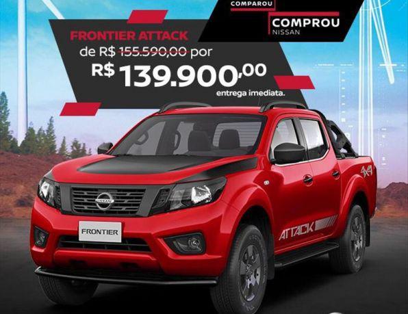 Nissan frontier attac.cd 4x4 2.3 bi-tb die. aut diesel