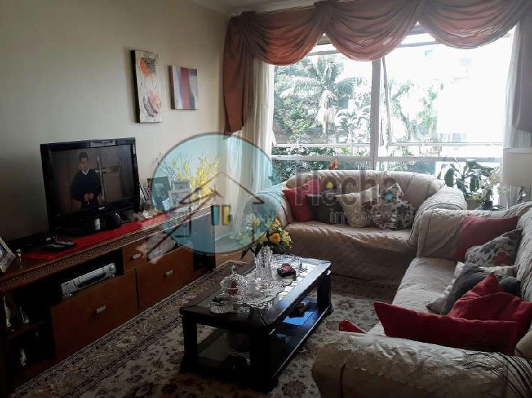 PARAÍSO LINDO APTO. TODO REFORMADO 115M² - 3 dormitórios
