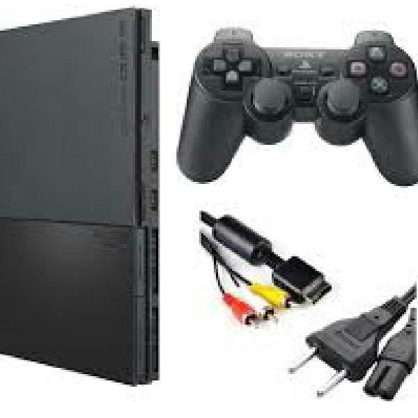 Playstation 2 e volante gamer