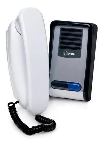 Porteiro eletrônico hdl residencial interfone ntl f-8 sntl