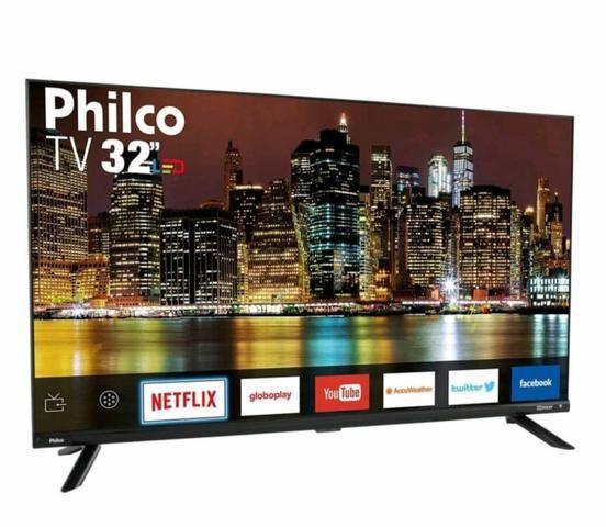 Smart tv philco 32' - nova