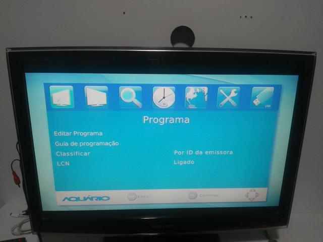 Tv monitor com conversor digital