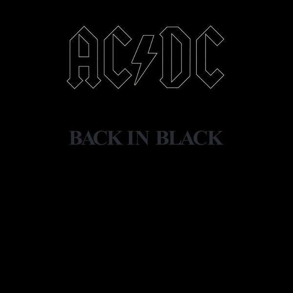 Vinil acdc - back in black