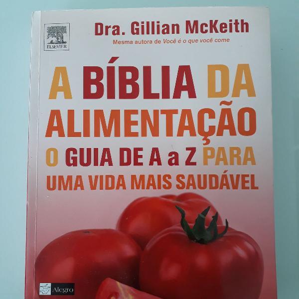 A bíblia da alimentação