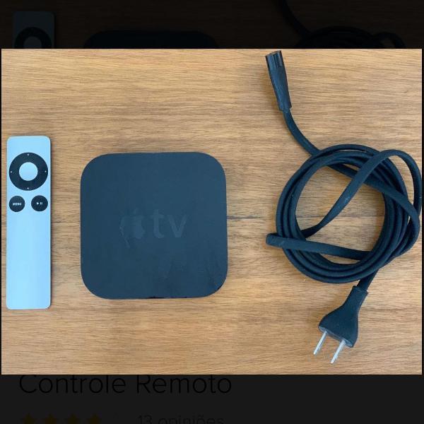 Apple tv 2a geração com controle remoto original