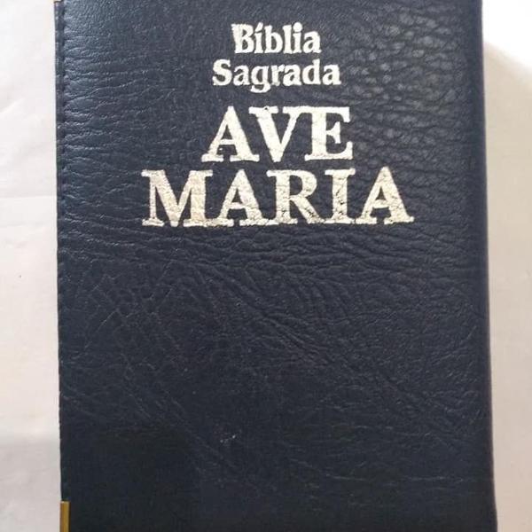 Bíblia sagrada ave maria - edição claretiana - 2008 -