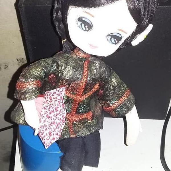 Boneca japonesa pose doll anos 60 - 70