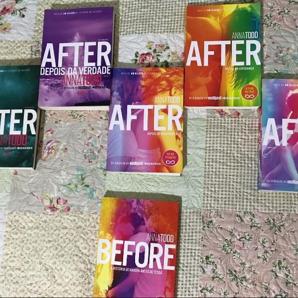 Box serie de livros after