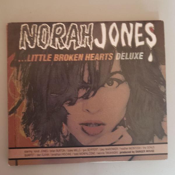 Cd norah jones - ...little broken hearts (deluxe edition)