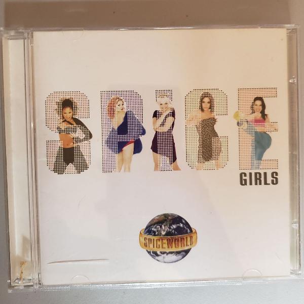 Cd spice girls - spice world