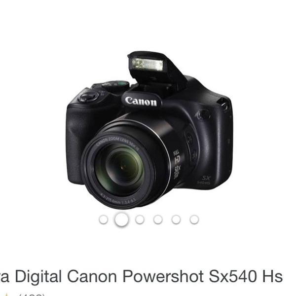 Câmera digitalcanon power shot sx 540 hs