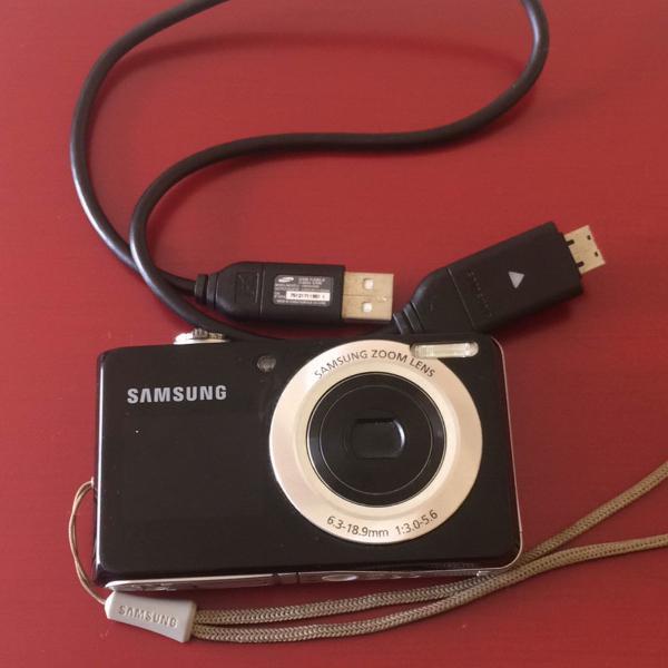 Câmera samsung com visor frontal
