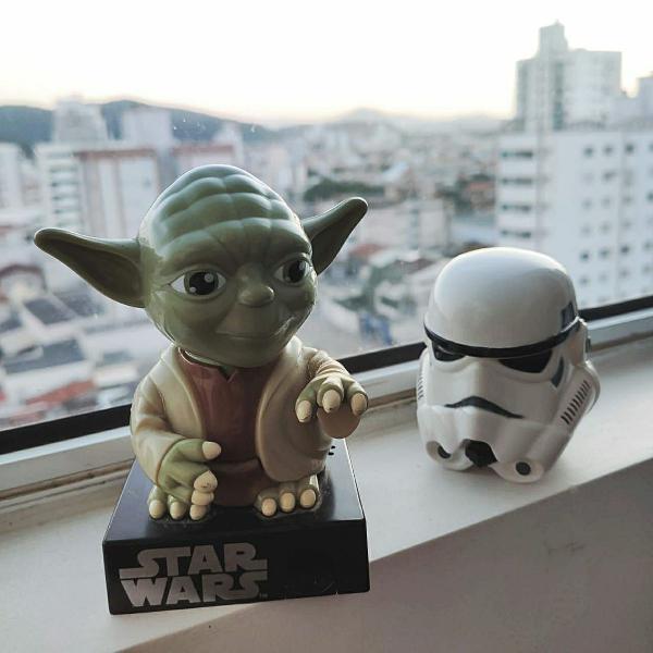 Colecionáveis: personagens star wars