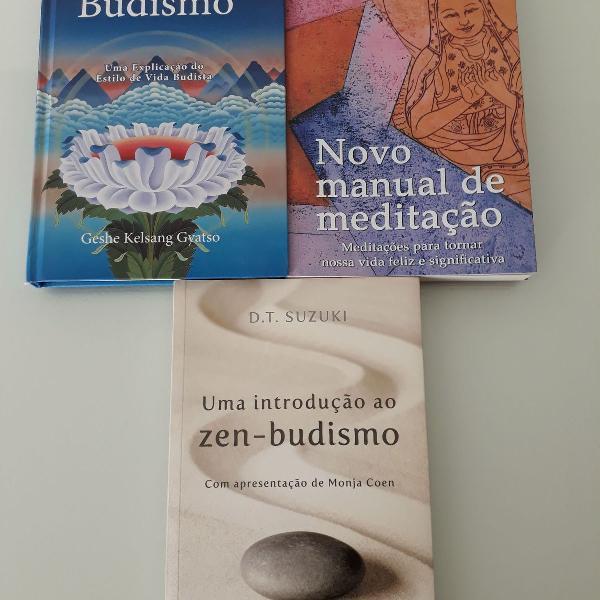 Combo livros budismo