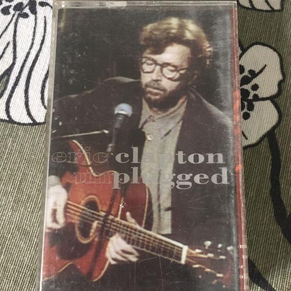 Fita k7 eric clapton unplugged original