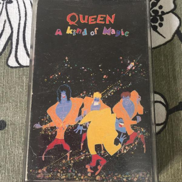 Fita k7 queen a kind of magic original